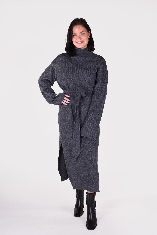 Nanushka jurk Canaan NW20CRDR03797 grijs