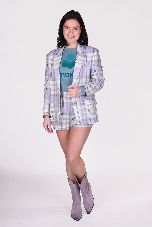 Isabel Marant blazer Ilindae VE1513 21P012E groen