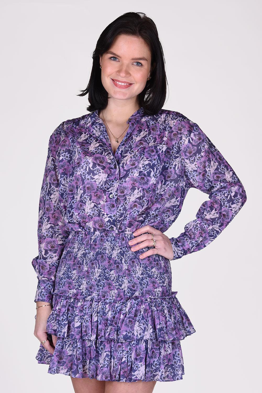 Isabel Marant blouse Mexika CH0238-21P009E blauw