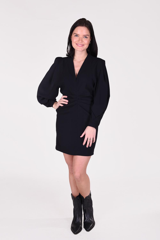 IRO jurk Jaden WP33JADEN zwart