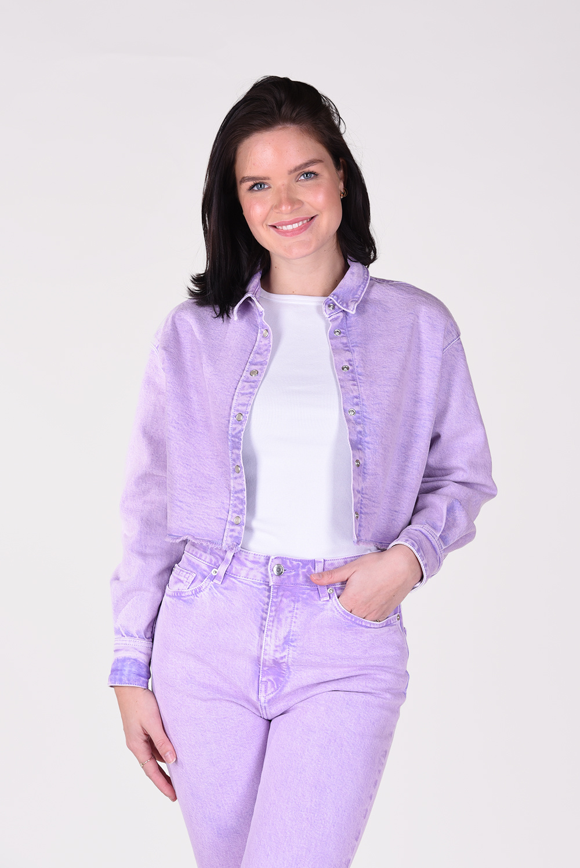IRO blouse Milou WP18MILOU paars