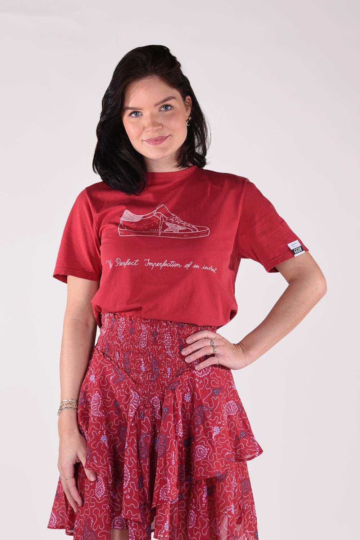 Golden Goose t-shirt Adamo GMP00777.P000444 rood