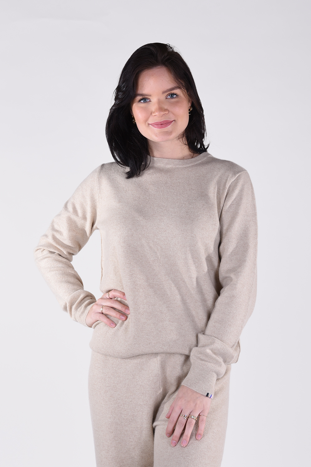 Extreme Cashmere trui Be 128 beige