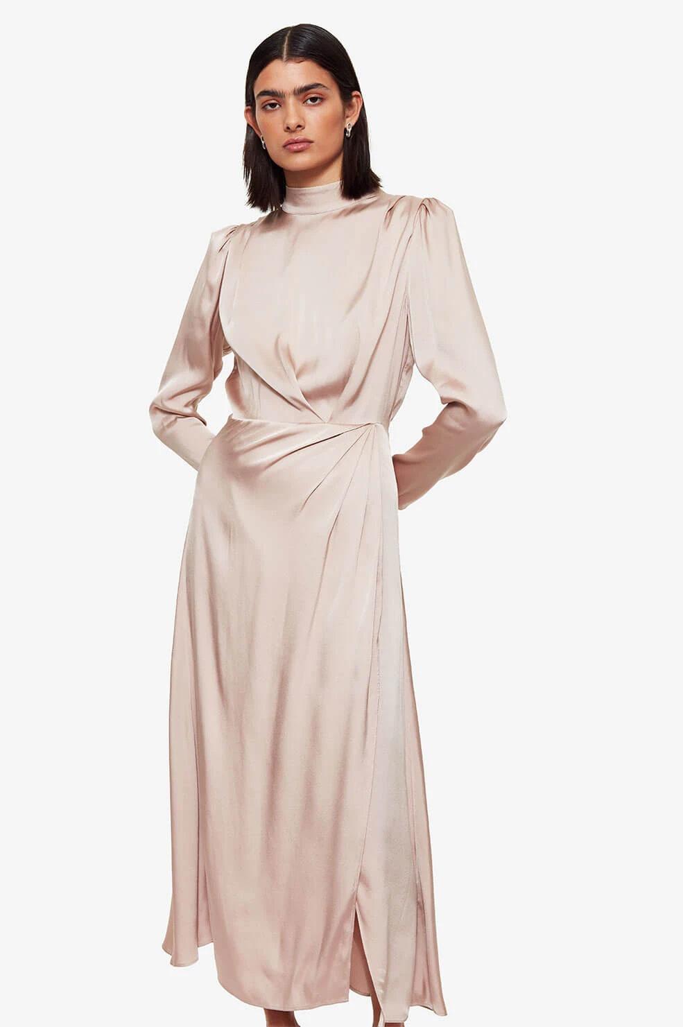 Anine Bing jurk Kim A-02-1150-270 beige