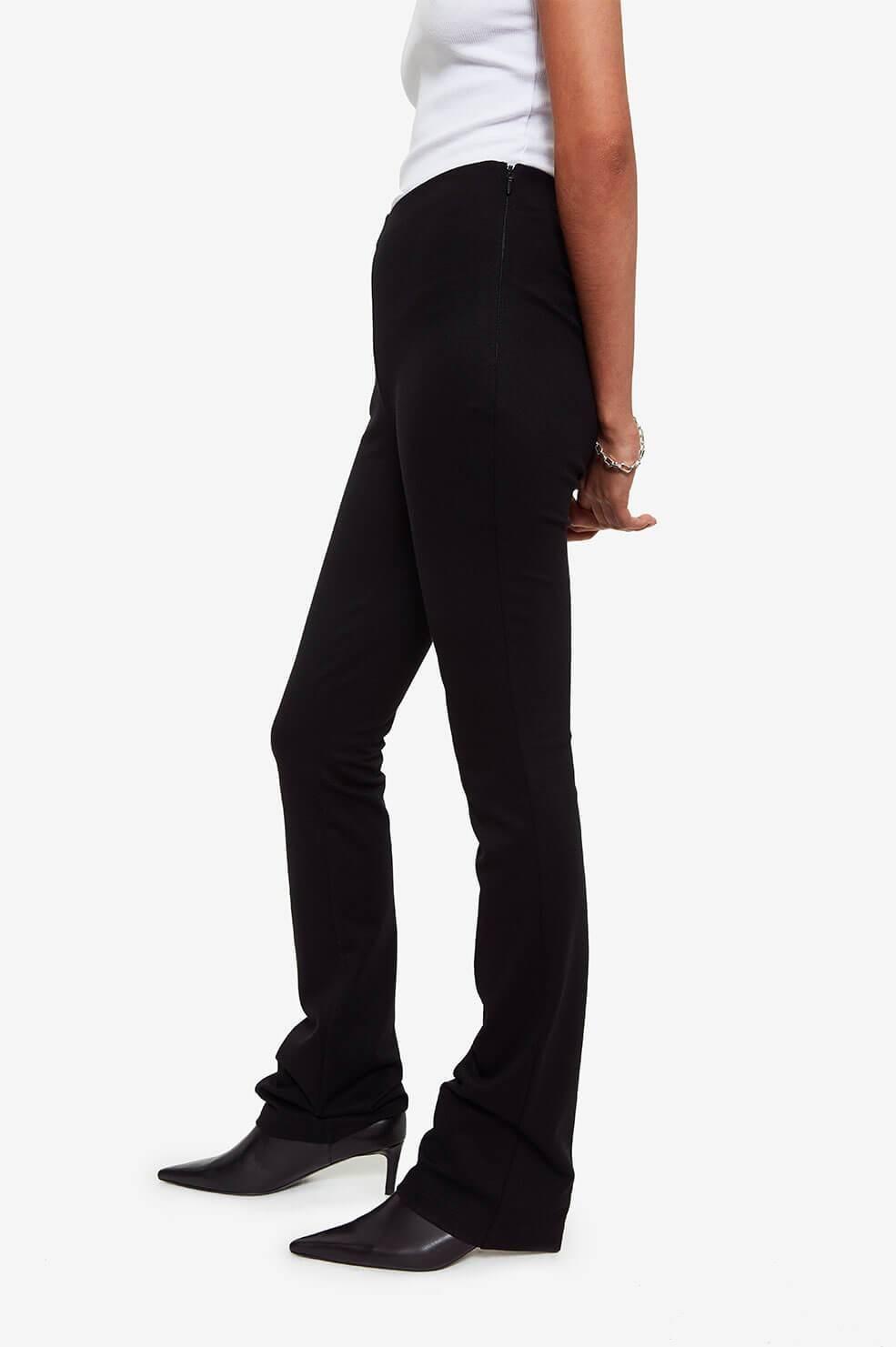 Anine Bing broek Dakota A-03-3068-000 zwart