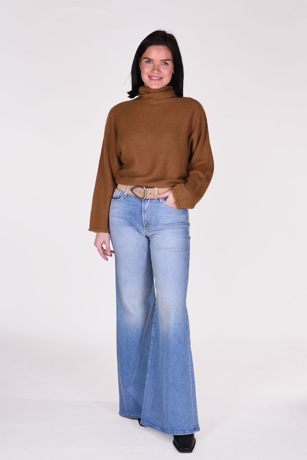 Frame jeans Le Palazzo LPP204/A blauw