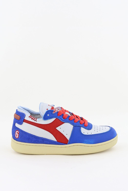 Diadora Heritage sneakers Mi Basket Row Cut 201.177152 wit/blauw