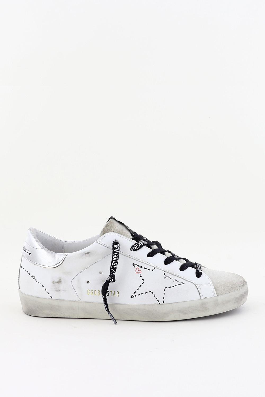 Golden Goose sneakers Superstar GWF00101.F000127 wit