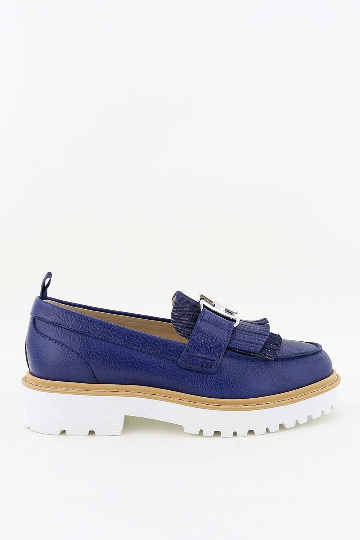 Hogan loafers HXW5610DJ40 blauw