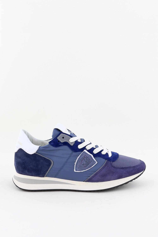Philippe Model sneakers Tropez TZLD-W063 blauw