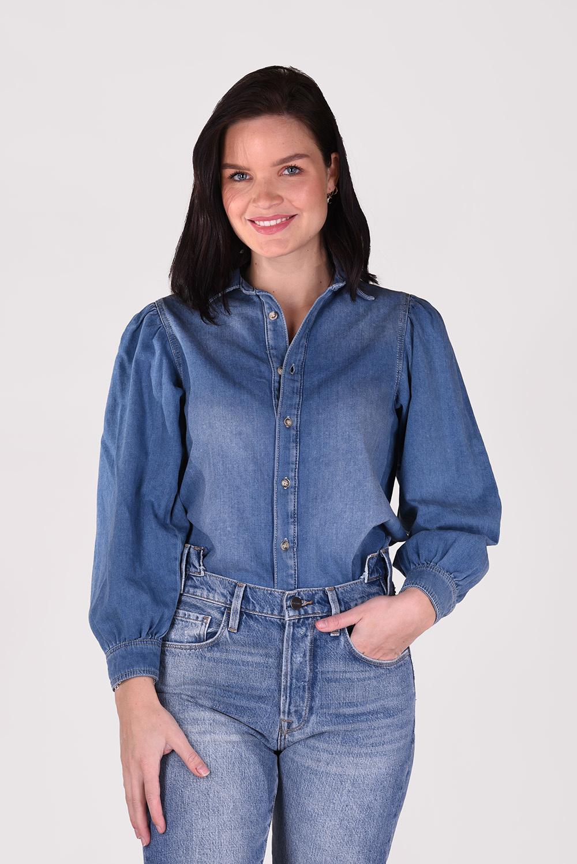 Boyish blouse Porter 451183 blauw