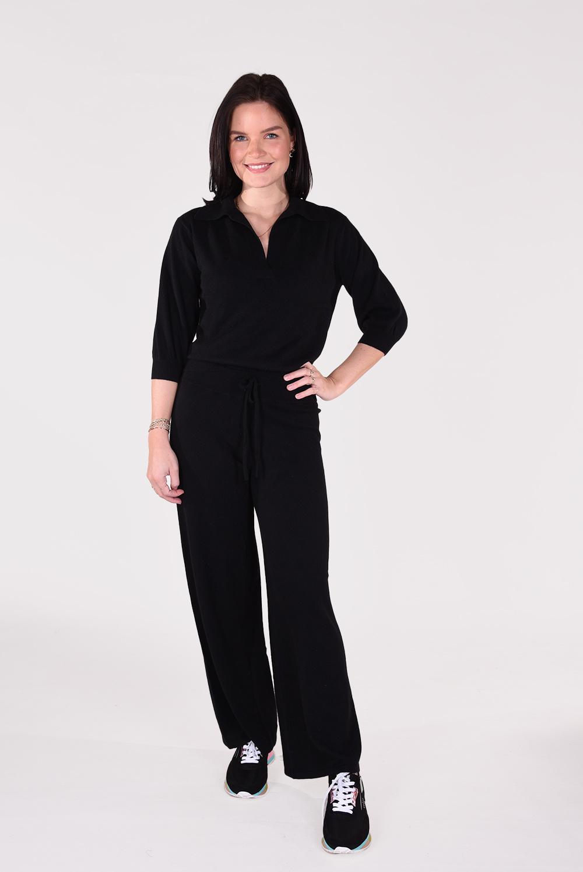 Lisa Yang broek Sofi 202143 zwart