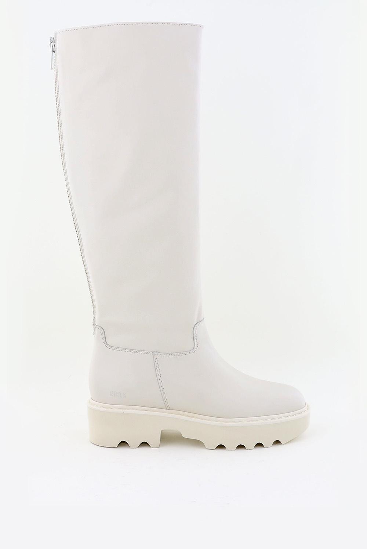 Nubikk hoge laarzen Fara Zip 211044700 crème