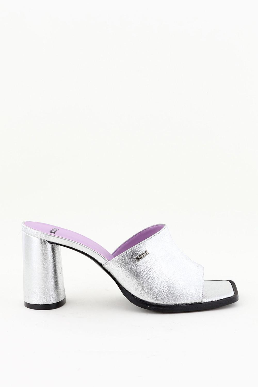 Nubikk sandalen Norah Slide 21047300 zilver