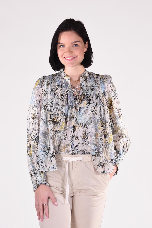 IRO blouse Calli WM16CALLI groen
