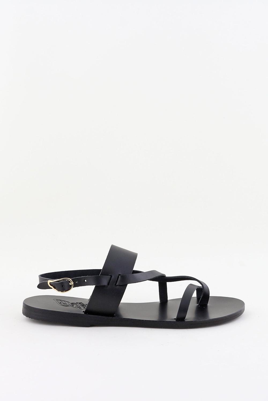 Ancient Greek Sandals sandalen Alethea zwart