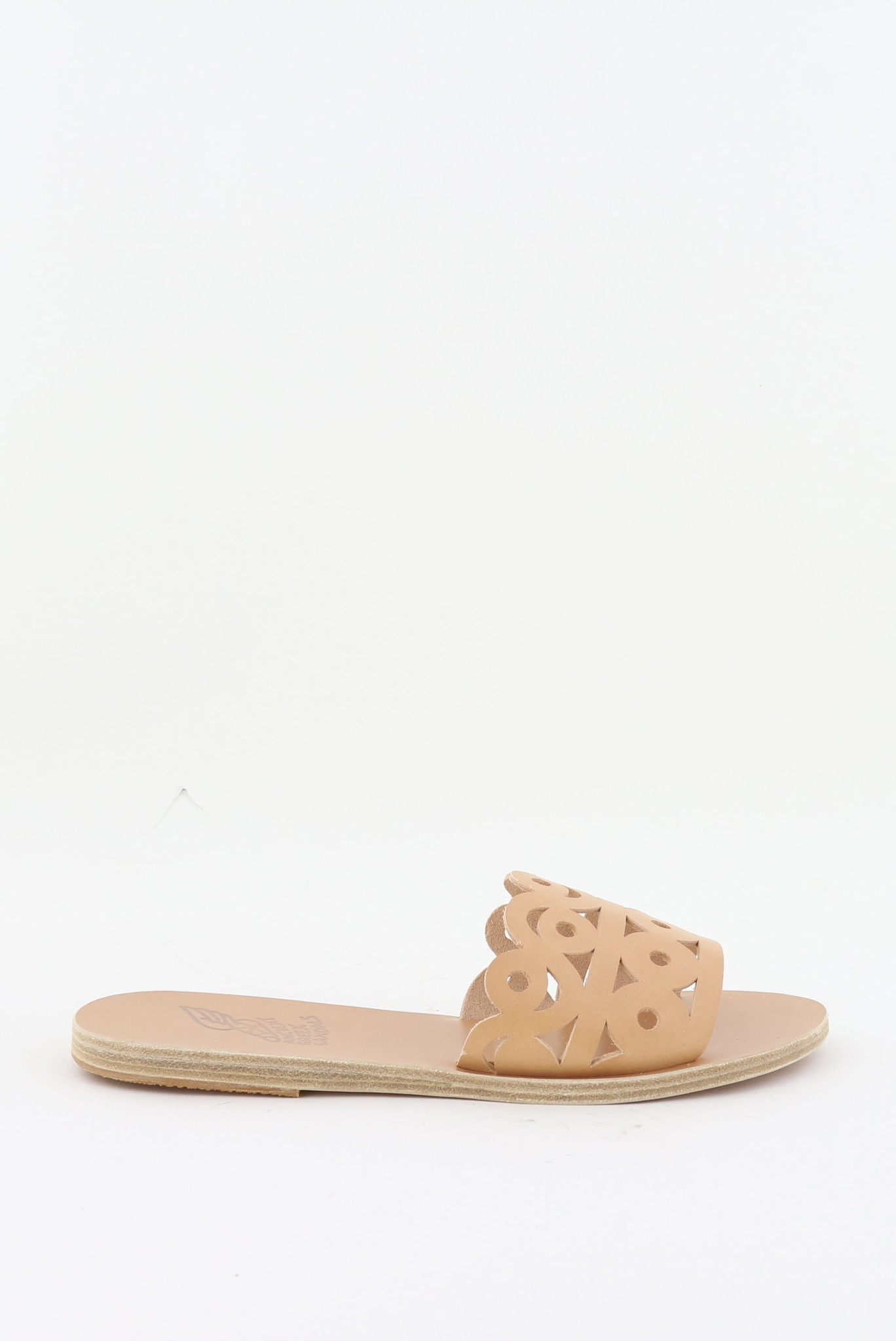 Ancient Greek Sandals sandalen Maistros beige