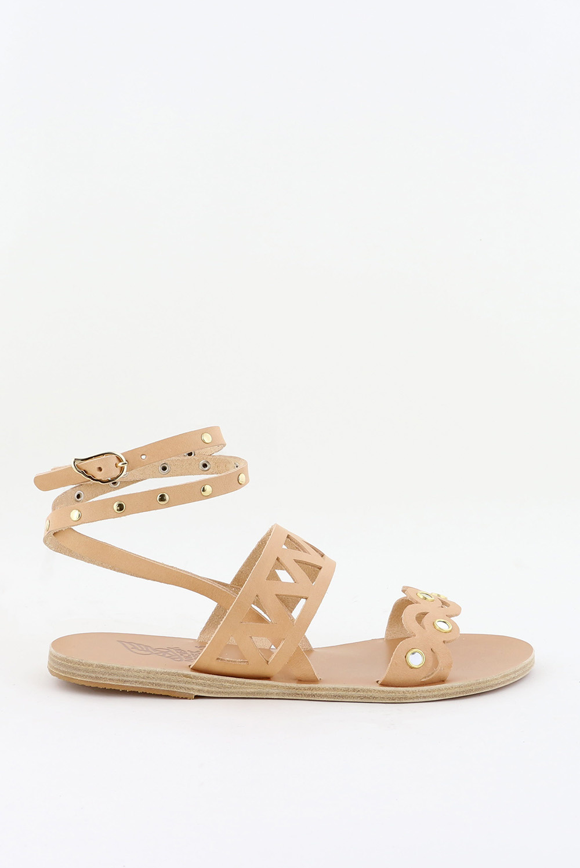 Ancient Greek Sandals sandalen Ostria Mirrors beige