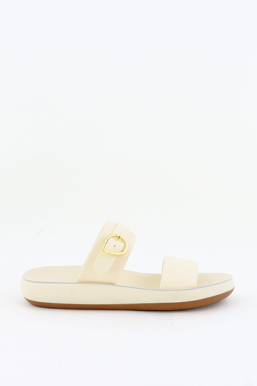 Ancient Greek Sandals slippers Preveza Comfort crème