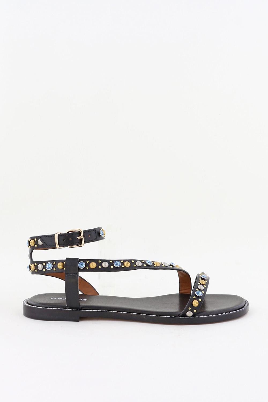Lola Cruz sandalen 111Z12BK zwart