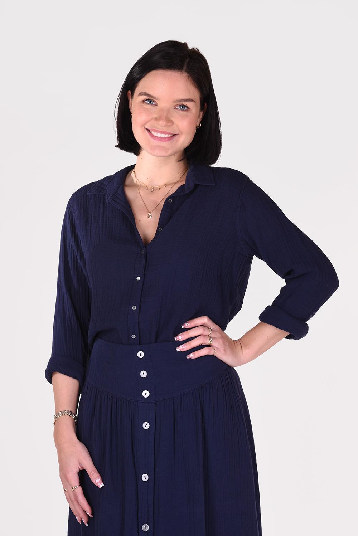 Xirena blouse Scout X11505 blauw