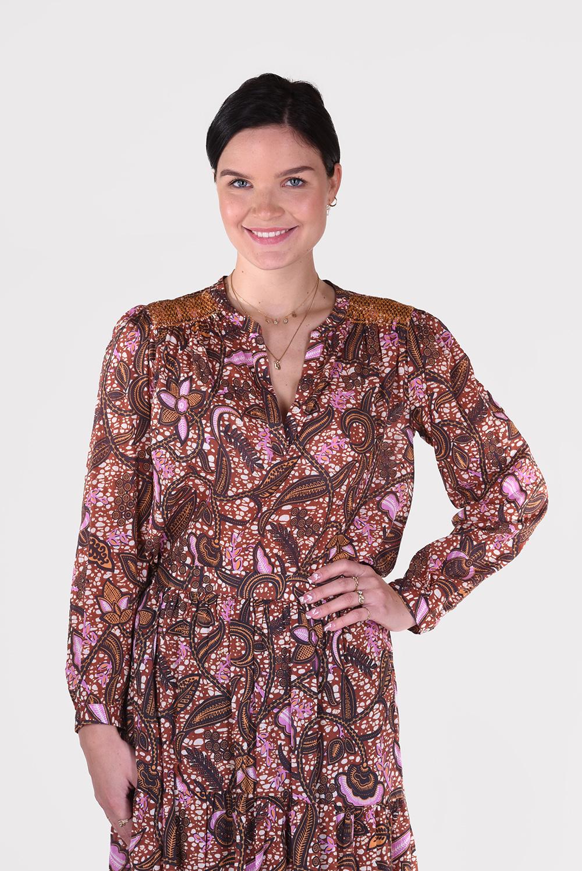 Xirena blouse Aimi X11546 cognac
