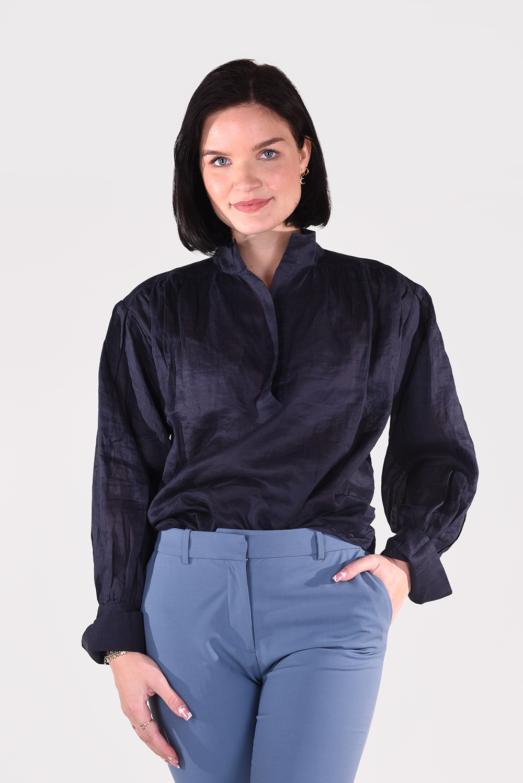 FRAME blouse Emma LWSH2089 blauw