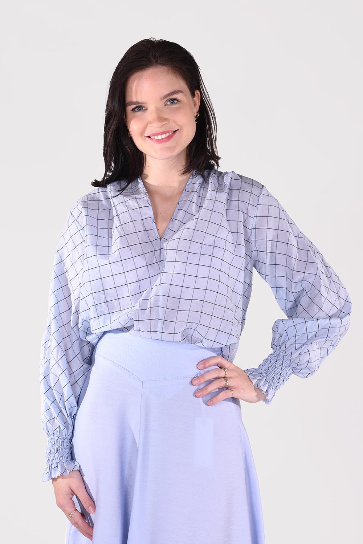 Forte_Forte blouse 8072 blauw