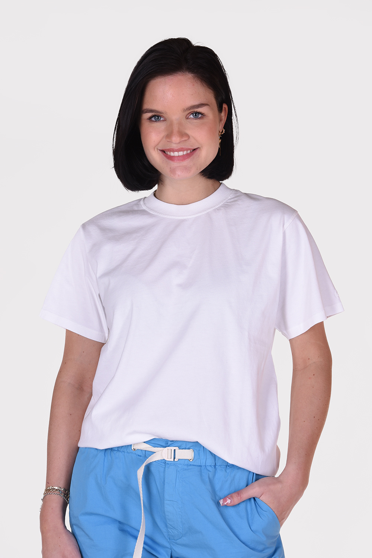 Anine Bing t-shirt Lili A-08-2140-100 wit