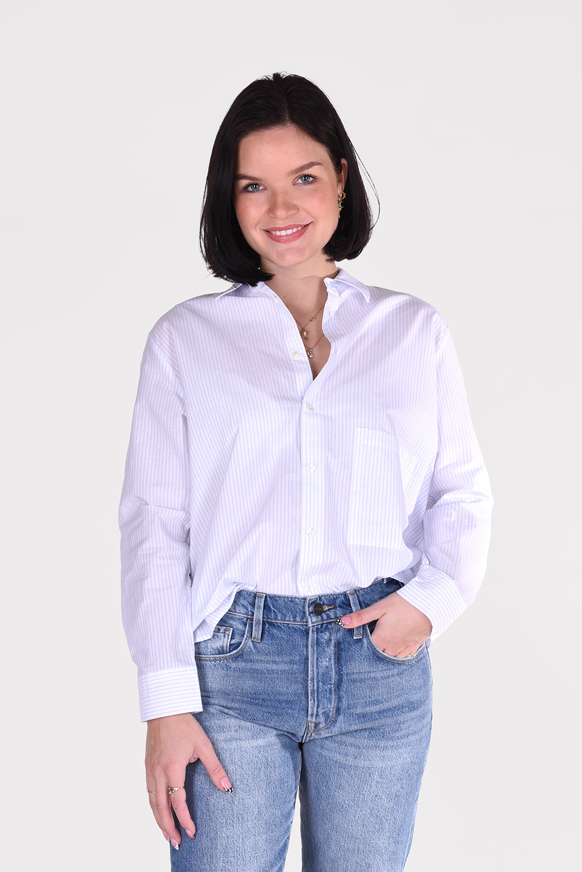 Hope blouse Elma 00702756 blauw