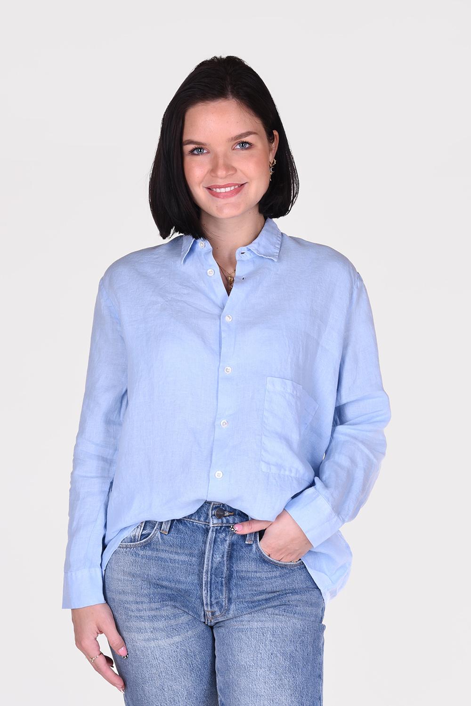 Hope blouse Elma 00704814 blauw