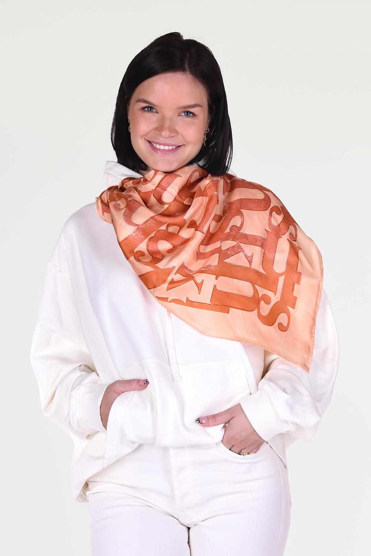 Nanushka shawl Miani NW21RSSC01224 cognac