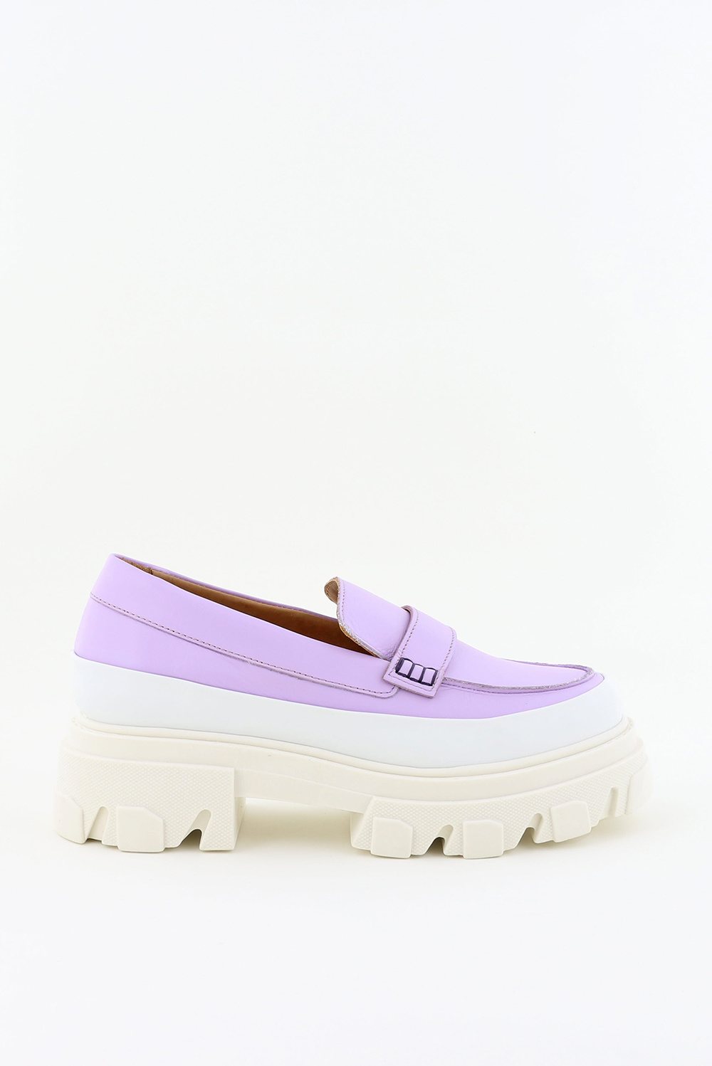 Ganni loafers S1492 paars