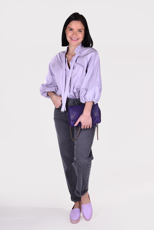 Magali Pascal blouse Anna T14 paars