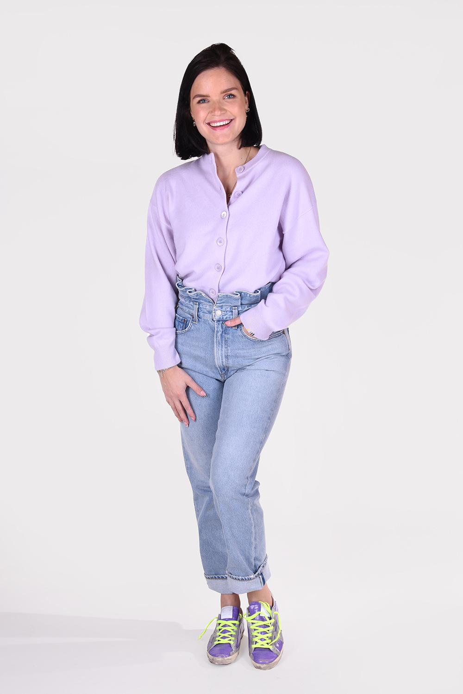 Extreme Cashmere vest Chou 170 paars