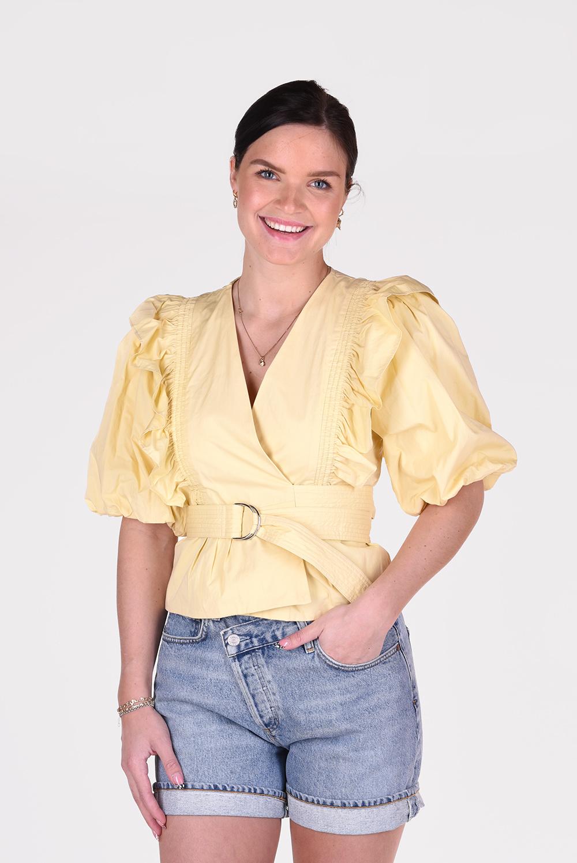Magali Pascal top Anna J09 geel