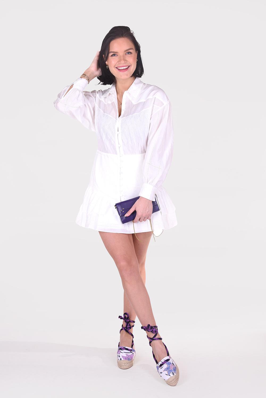 IRO jurk Josey WM33JOSEY wit