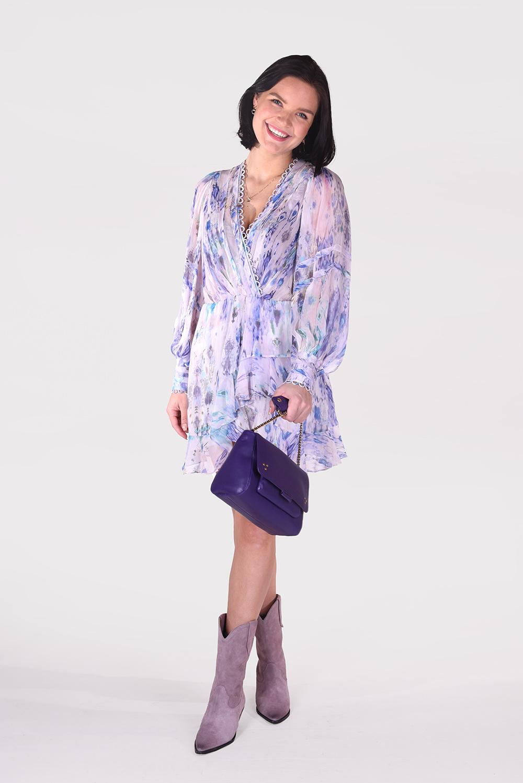IRO jurk Kolmi WP33KOLMI blauw