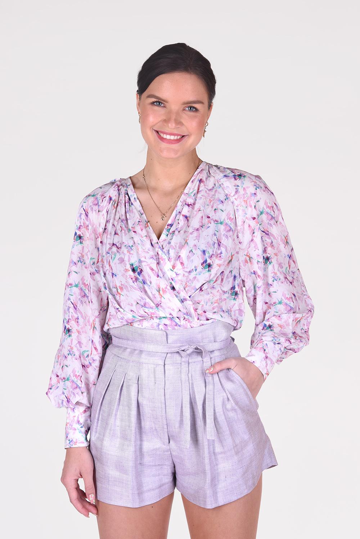 IRO blouse Azza WP16AZZA roze
