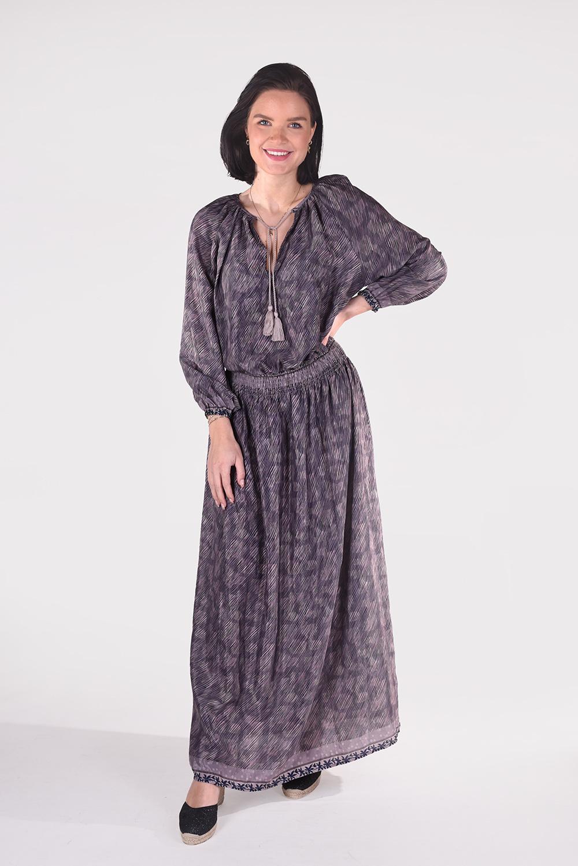 Sissel Edelbo jurk Feather Dress SE646 multicolour 1