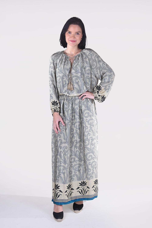 Sissel Edelbo jurk Feather Dress SE646 multicolour 2