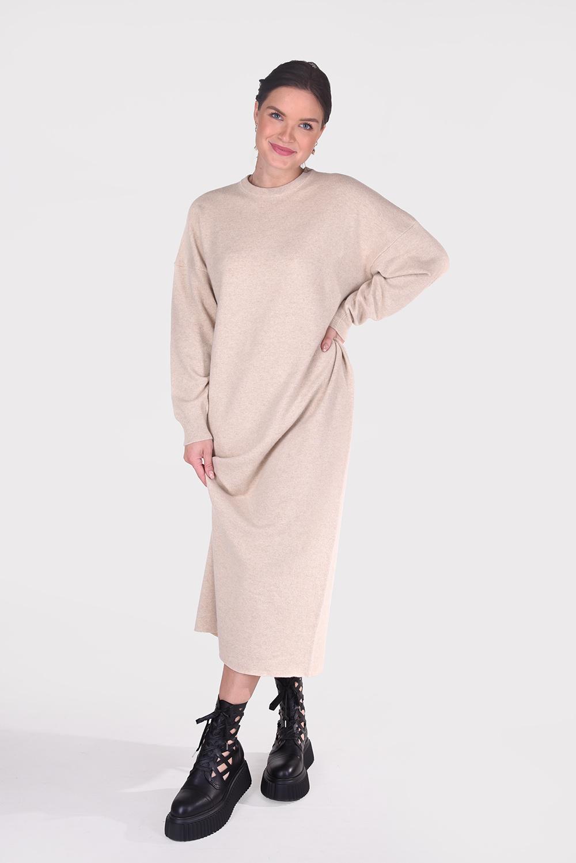 Extreme Cashmere jurk Weird 106 beige