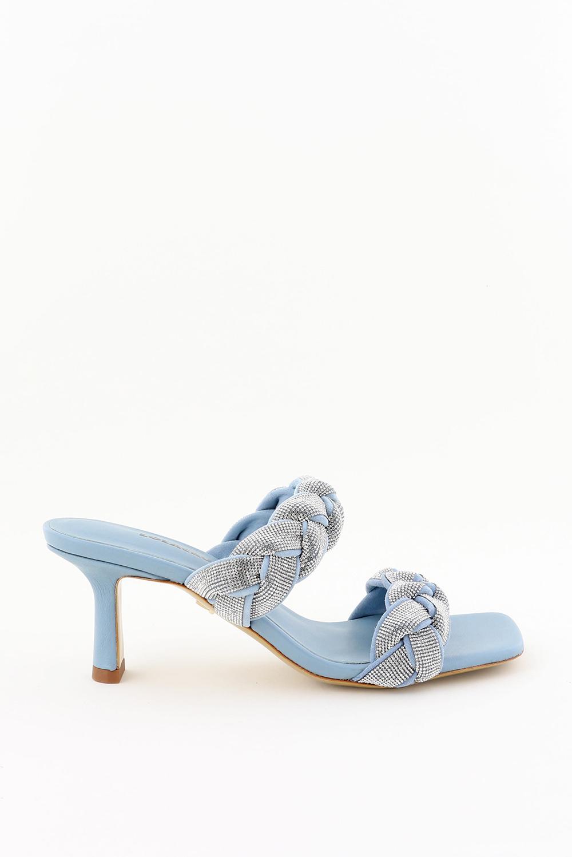 Lola Cruz sandalen Moroni 051Z00BK blauw
