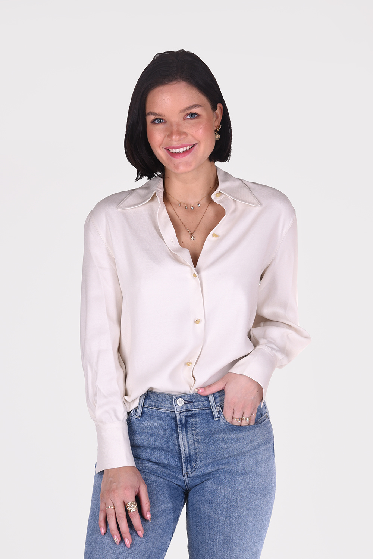Vince blouse V729512419 creme