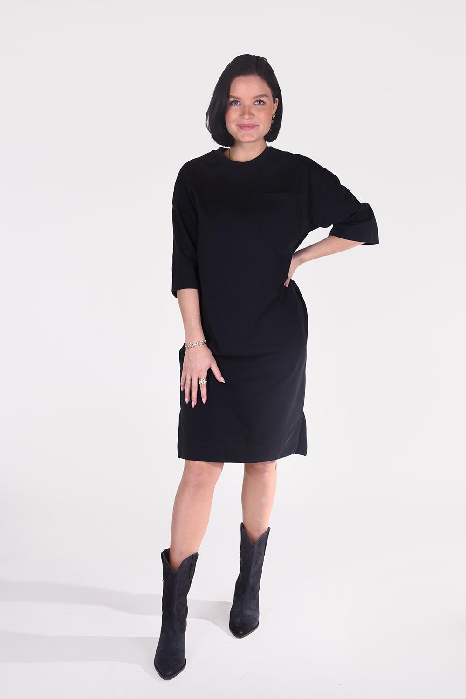 Ganni jurk T2787 zwart