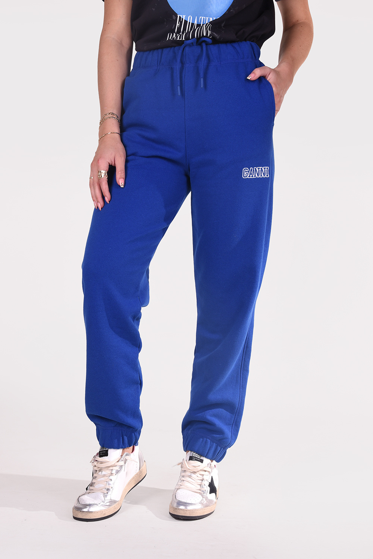 Ganni broek T2914 blauw