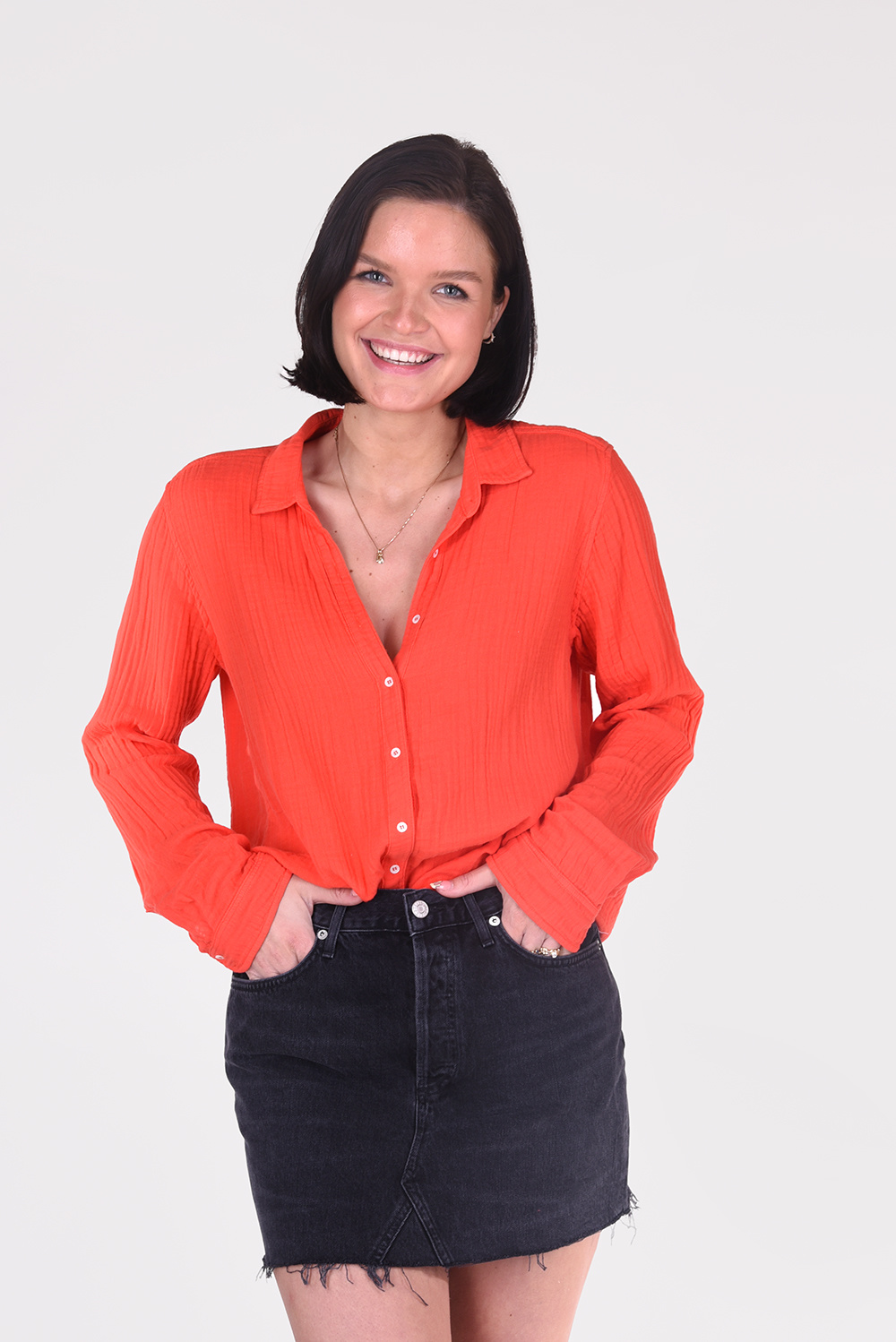 Xirena blouse Scout X13505 rood
