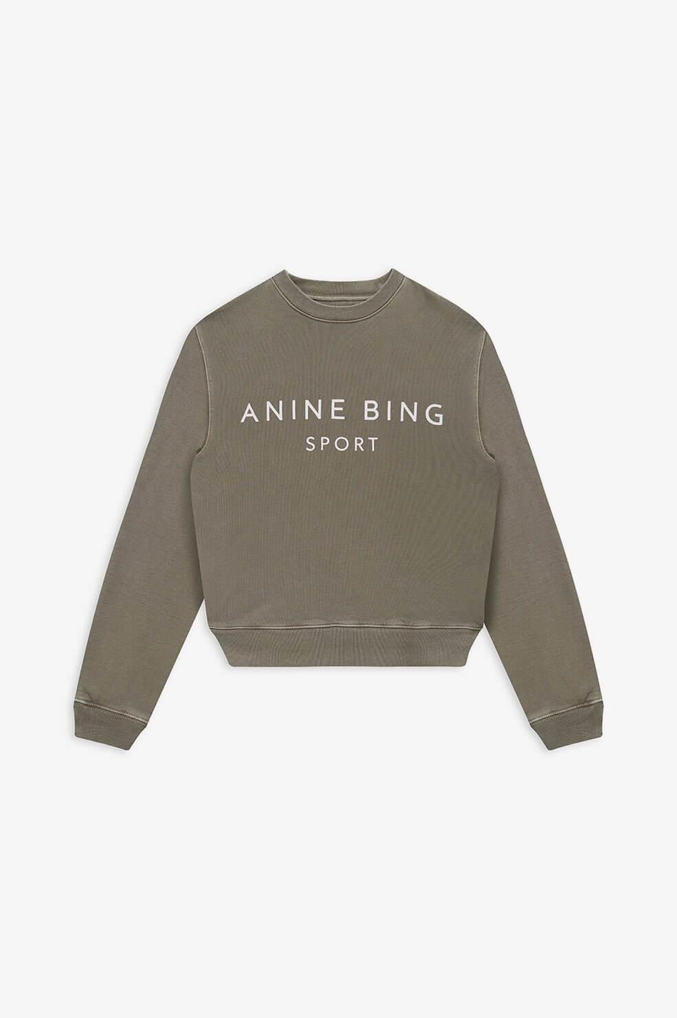 Anine Bing trui Evan S-08-5188-310 groen
