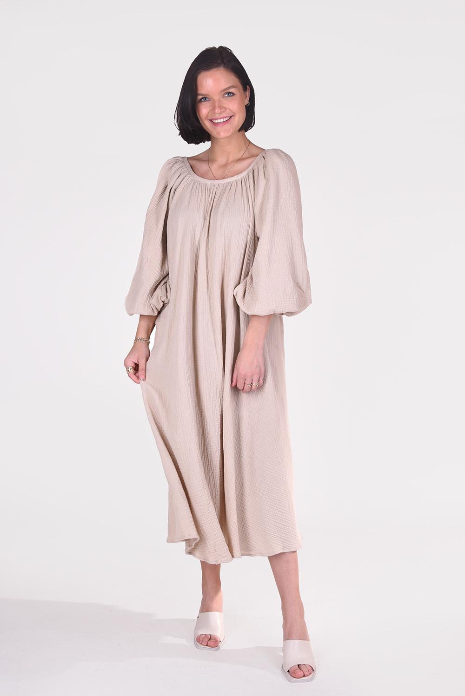 Munthe jurk Palopo 1310 beige