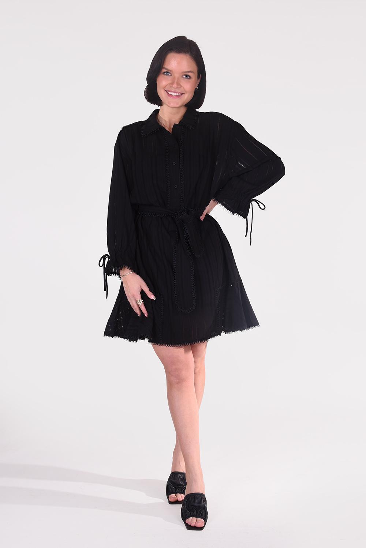 Munthe jurk Peach 1327 zwart